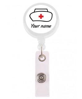 Badge / ID Jojo Nurse met Naam Opdruk