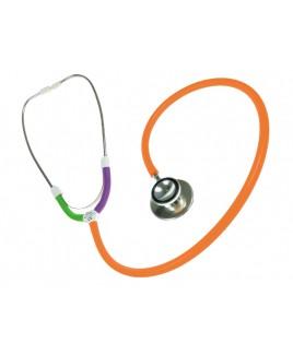 CBC Dual Head Stethoscoop Multi Oranje