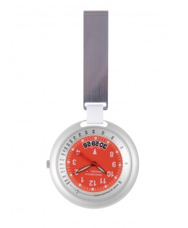 Swiss Medical Horloge Professional Line Zilver Rood - Limited Edition