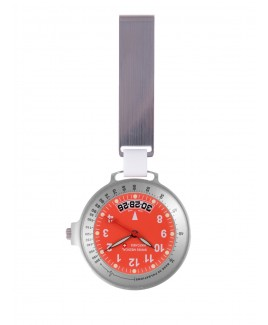 Swiss Medical Horloge Care Line Zilver Rood - Limited Edition
