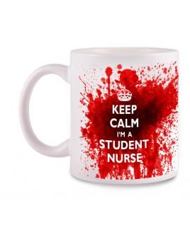 Mok Student Nurse met Naam Opdruk