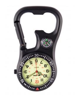 Knip Horloge NOC463 Stealth Black